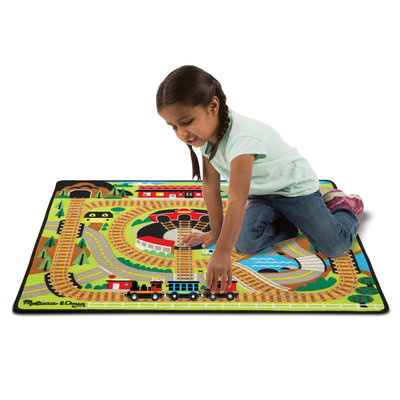 MELISSA AND DOUG TRAIN RUG