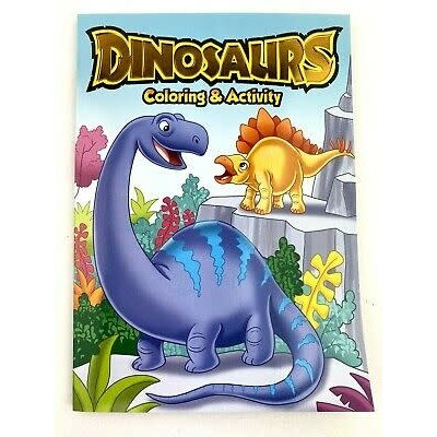 MASTER TOY CARTOON INSPIRED COLORING BOOKS DINOSAURS