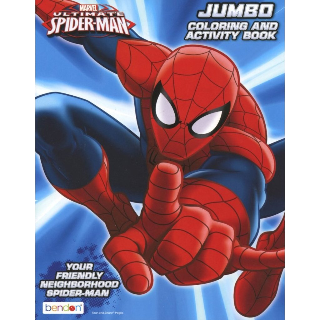 MASTER TOY HERO INSPIRED COLORING BOOKS SPIDER-MAN