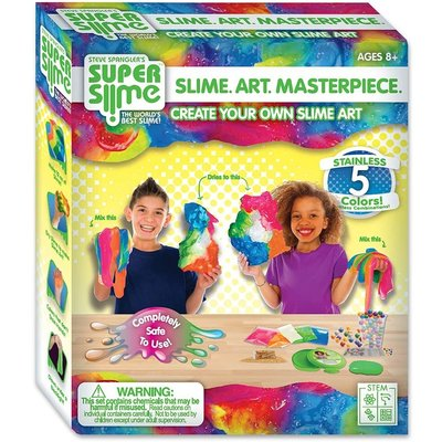 BE AMAZING SUPER SLIME MASTERPIECE