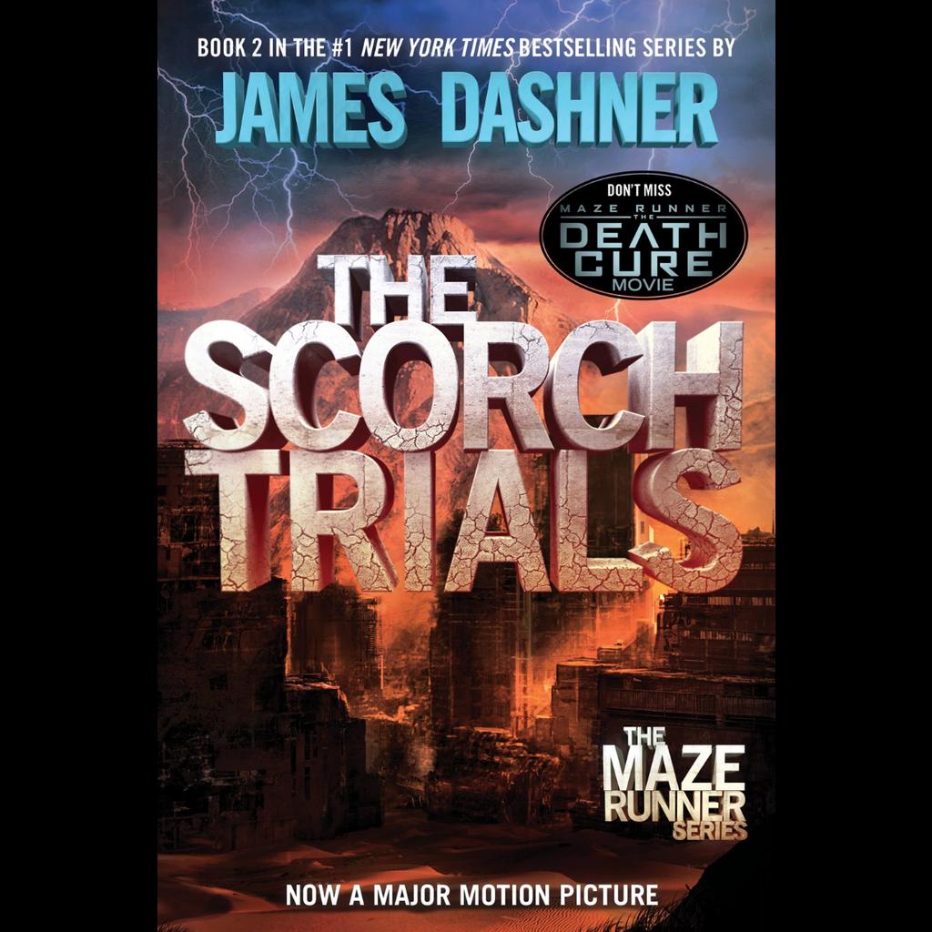 MAZE RUNNER 2 SCORCH TRIALS PB DASHNER - THE TOY STORE