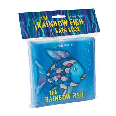 SIMON AND SCHUSTER RAINBOW FISH BATH BOOK PFISTER