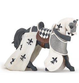 PAPO WHITE DRAPED HORSE*