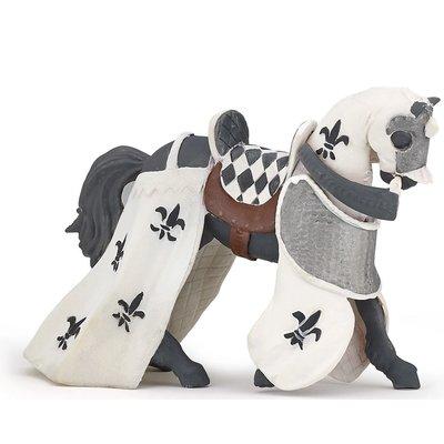 PAPO WHITE DRAPED HORSE