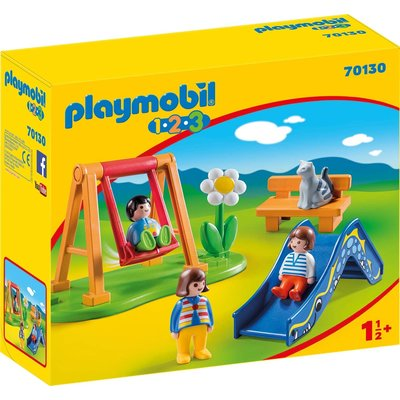 PLAYMOBIL CHILDRENS PLAYGROUND PLAYMOBIL 1,2,3