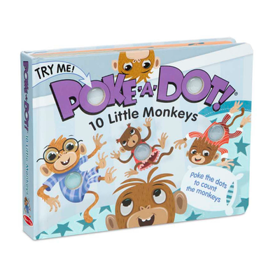 POKE A DOT POKE-A-DOT! 10 LITTLE MONKEYS