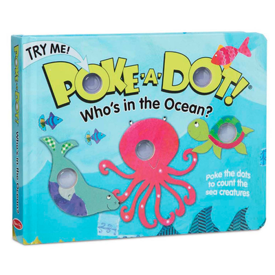 POKE A DOT POKE-A-DOT! WHO'S IN THE OCEAN?