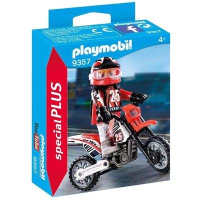 PLAYMOBIL MOTORCROSS DRIVER