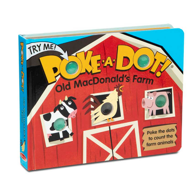 POKE A DOT POKE-A-DOT! OLD MACDONALD'S FARM