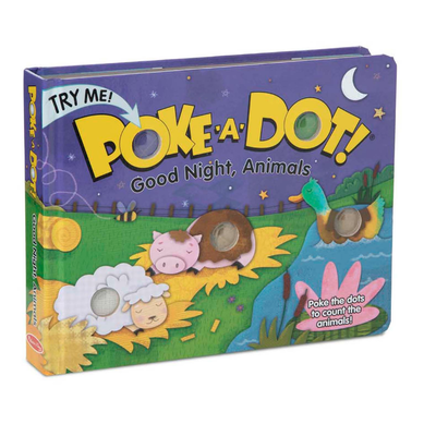 POKE A DOT POKE-A-DOT! GOODNIGHT, ANIMALS