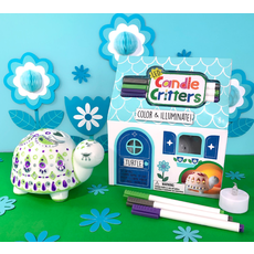 BRIGHT STRIPES LED CANDLE CRITTERS