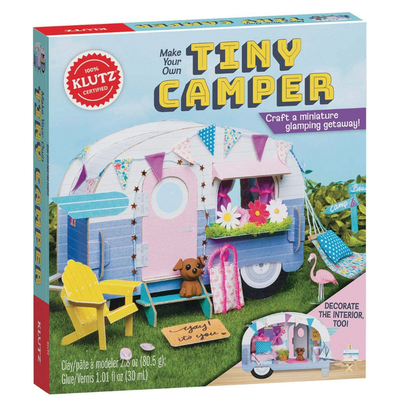 KLUTZ MAKE YOUR OWN TINY CAMPER KLUTZ