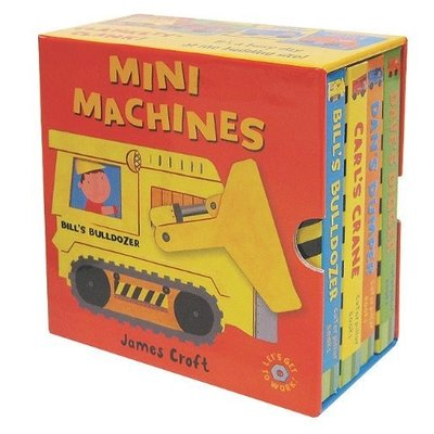 EDC PUBLISHING MINI MACHINES BOOK SET BB CROFT