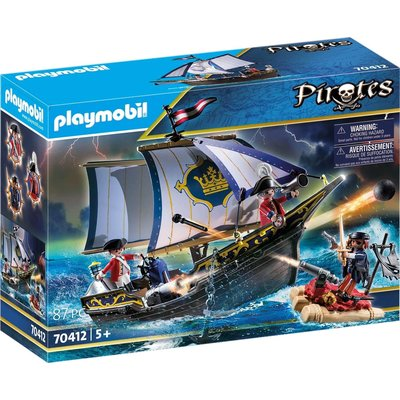 PLAYMOBIL REDCOAT PIRATE SHIP PLAYMOBIL