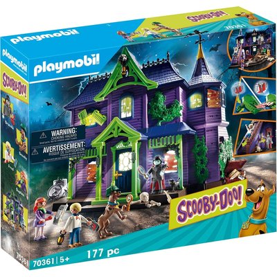 PLAYMOBIL SCOOBY DOO MYSTERY MANSION
