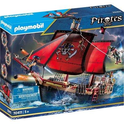 PLAYMOBIL SKULL PIRATE SHIP PLAYMOBIL