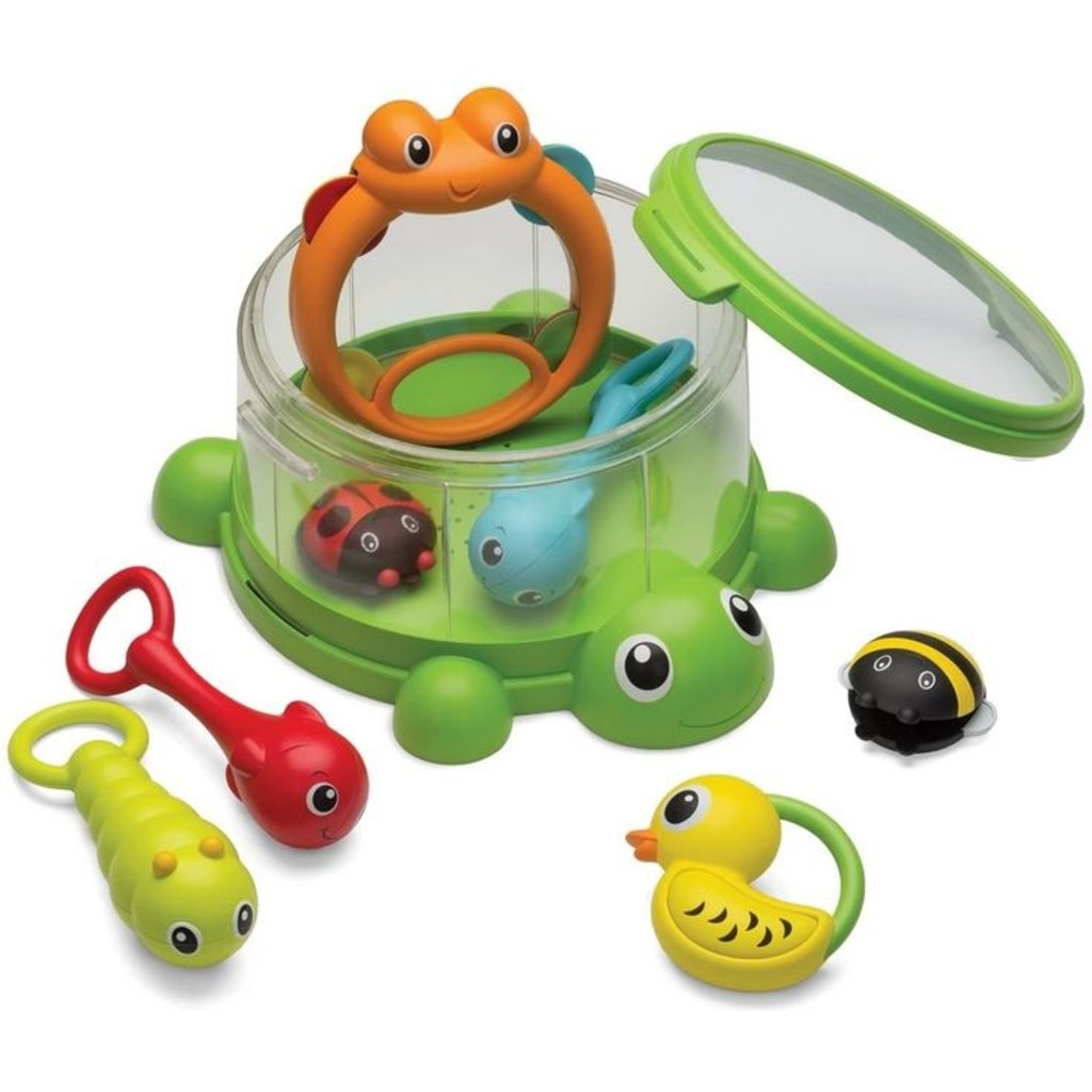 INFANTINO TURTLE COVER BAND 8 PC PERCUSSION SET