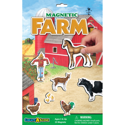 PLAYMONSTER CREATE A SCENE MAGNETIC FARM
