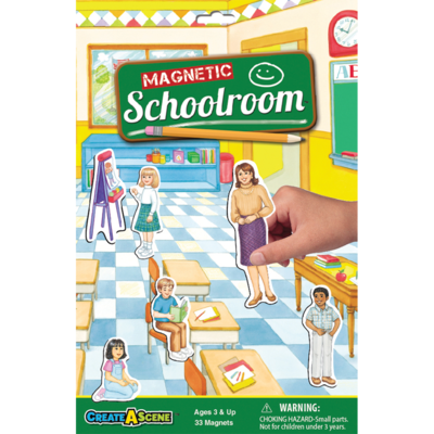 PLAYMONSTER CREATE A SCENE SCHOOLROOM