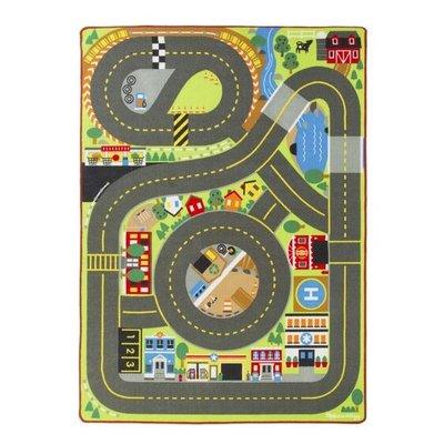 MELISSA AND DOUG JUMBO ROADWAY ACTIVITY MAT M & D*