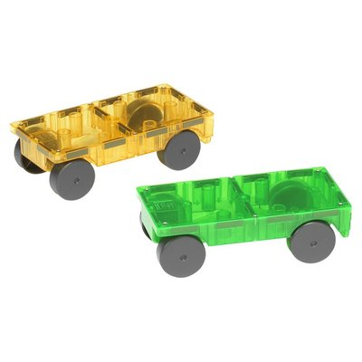 VALTECH! CO MAGNA-TILES CARS EXPANSION SET