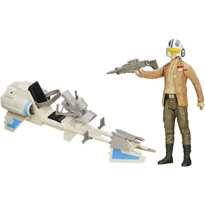 STAR WARS STAR WARS ACTION FIGURE W/ VEHICLE*
