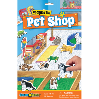 PLAYMONSTER CREATE A SCENE PET SHOP
