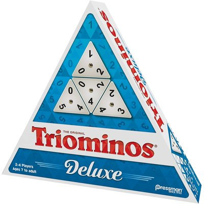 PRESSMAN TRI-OMINOS TRIANGULAR GAME