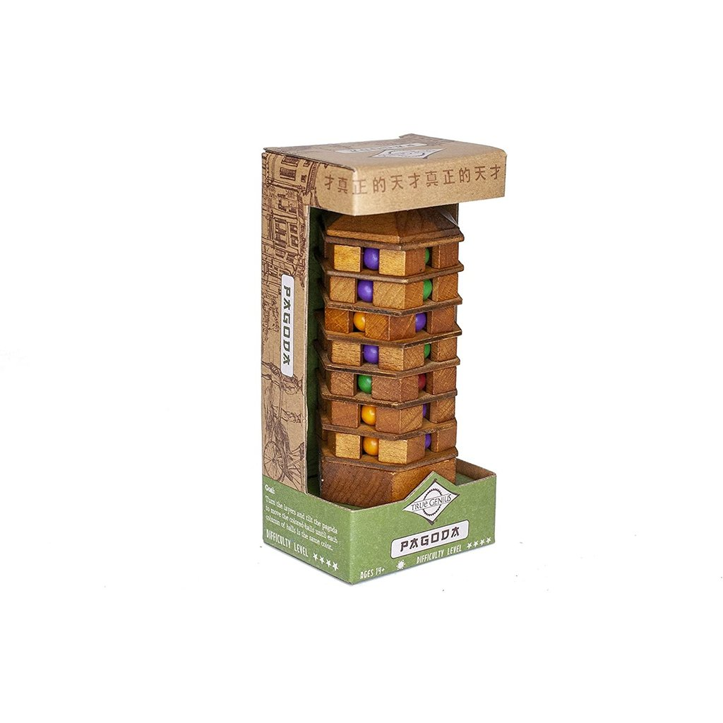 PROJECT GENIUS CHINESE PAGODA PUZZLE