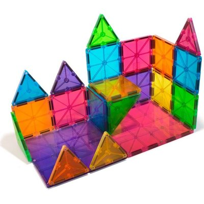 VALTECH! CO MAGNA-TILES CLEAR COLORS