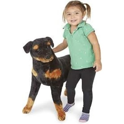 MELISSA AND DOUG LARGE ROTTWEILER