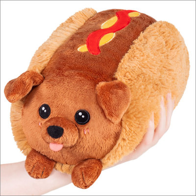 SQUISHABLE MINI DACHSHUND HOT DOG SQUISHABLE