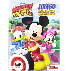 MASTER TOY CARTOON INSPIRED COLORING BOOKS MICKEY & ROADSTER RACERS