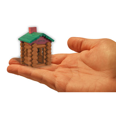 WORLDS SMALLEST LINCOLN LOGS