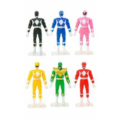 WORLDS SMALLEST POWER RANGERS
