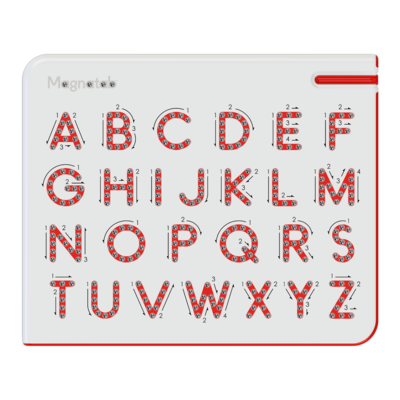 KID O DISTRIBUTION A TO Z UPPERCASE MAGNATAB
