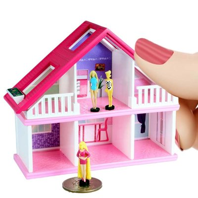 WORLDS SMALLEST BARBIE DREAM HOUSE