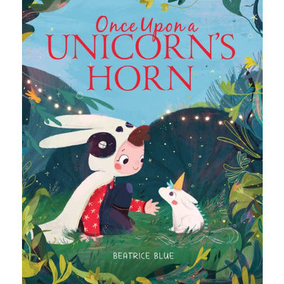 CLARION BOOKS ONCE UPON A UNICORN'S HORN HB BLUE