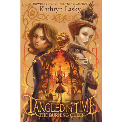 HARPERCOLLINS PUBLISHING TANGLED IN TIME 2 BURNING QUEEN PB LASKY