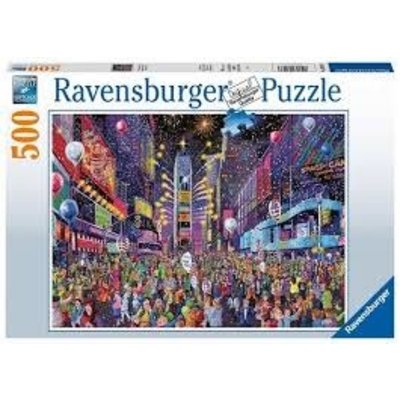 RAVENSBURGER USA NEW YEARS IN TIMES SQUARE 500 PIECE