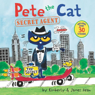 HARPERCOLLINS PUBLISHING PETE CAT SECRET AGENT PB DEAN