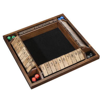 SHUT THE BOX GAME 4 PLAYER