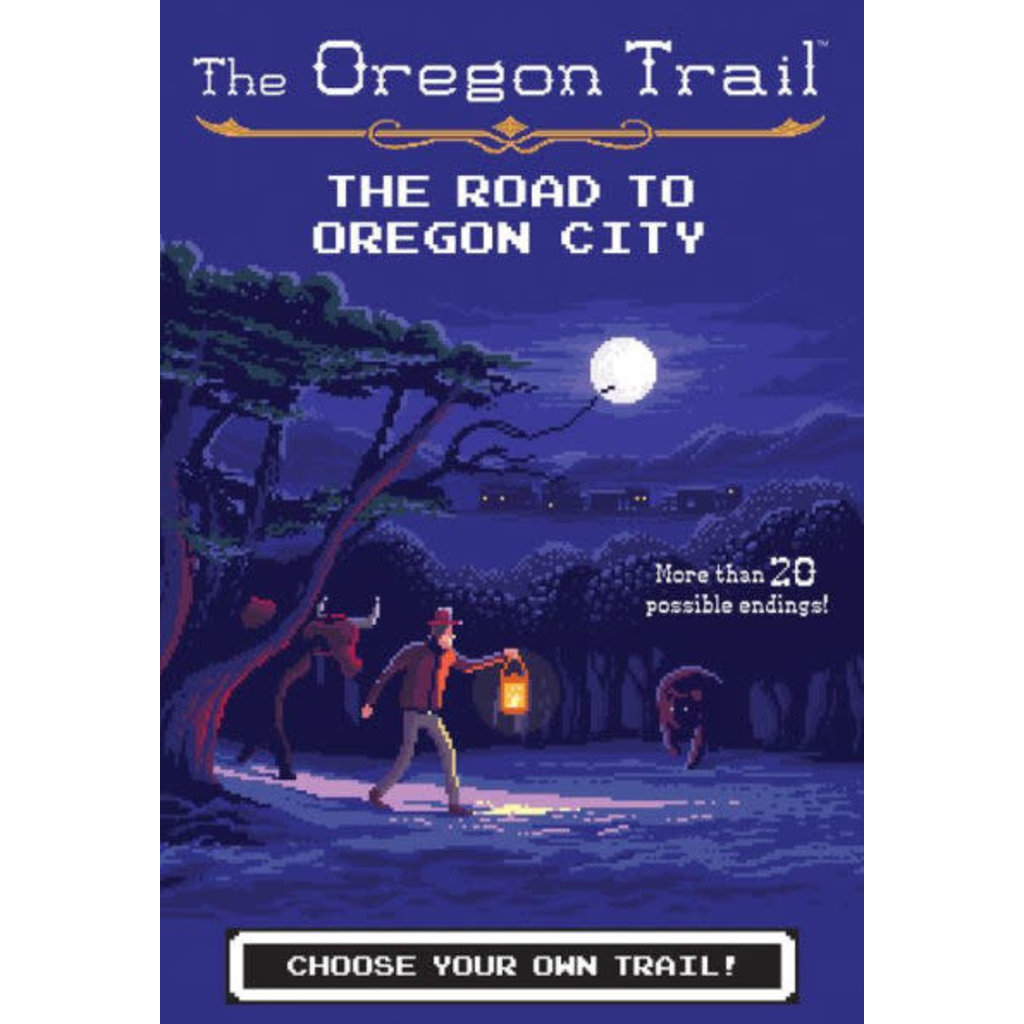 HMH BOOKS FOR YOUNG READERS OREGON TRAIL 4 ROAD TO OREGON CITY PB WILEY@