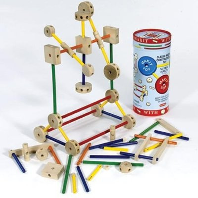 SCHYLLING ASSOCIATES TINKERTOYS MAKIT BARREL