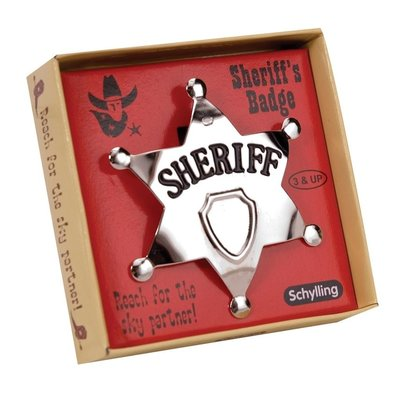 SCHYLLING ASSOCIATES SHERIFF'S BADGE