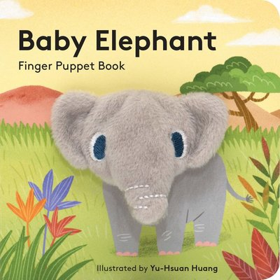 CHRONICLE PUBLISHING BABY ELEPHANT FINGER PUPPET BOOK BB IMAGE BOOKS