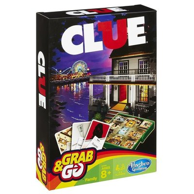 HASBRO GRAB & GO TRAVEL GAME