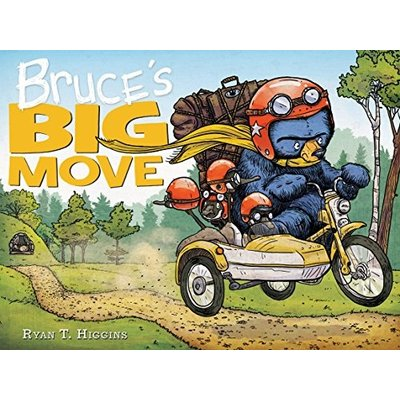 HACHETTE BOOK GROUP BRUCE'S BIG MOVE HB HIGGINS