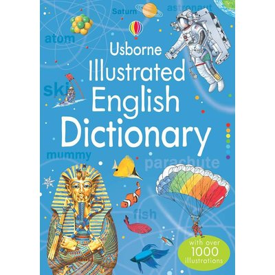 EDC PUBLISHING USBORNE ILLUSTRATED ENGLISH DICTIONARY