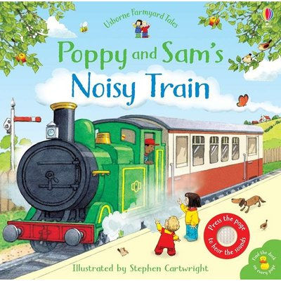 EDC PUBLISHING NOISY TRAIN SOUND BOOK HB USBORNE